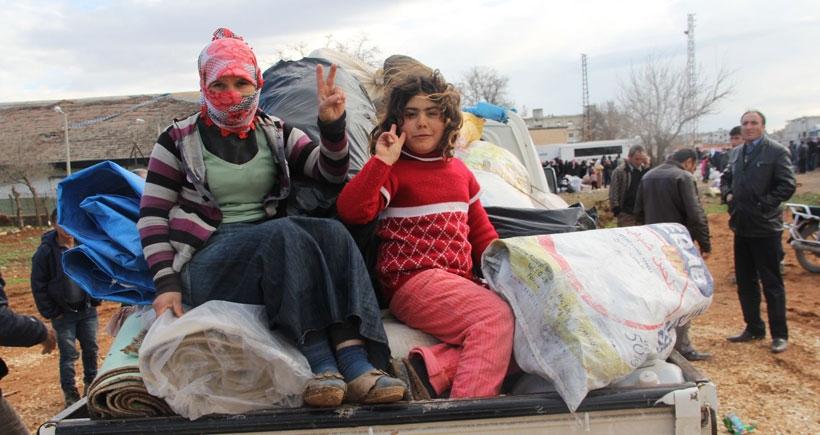 Sınırda Kobanê'ye dönüş heyecanı