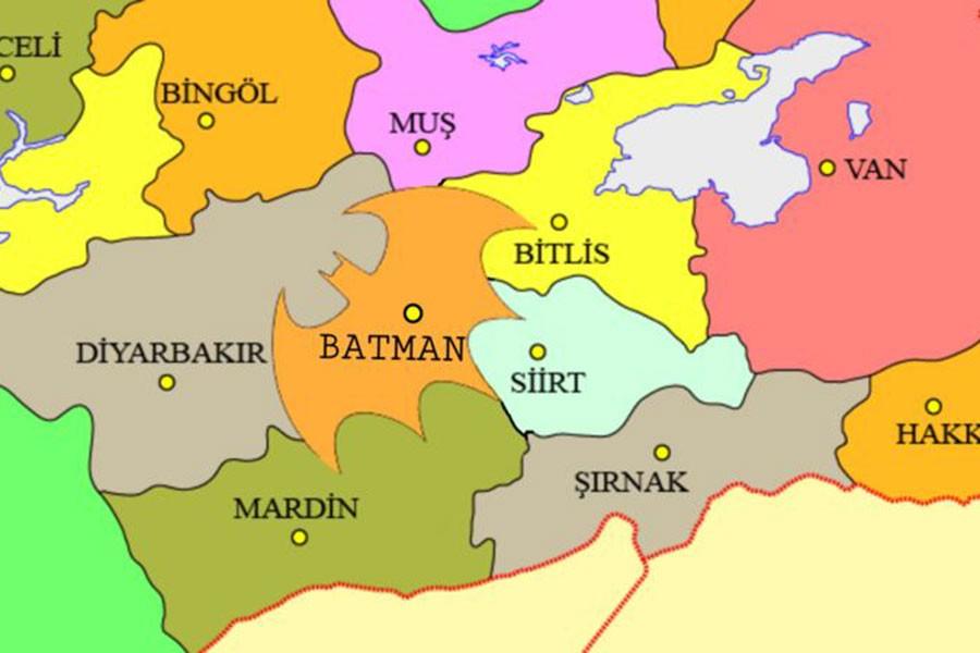 'Batman sınırları 'Yarasa Adam' logosu olsun' kampanyasına 13 bin imza