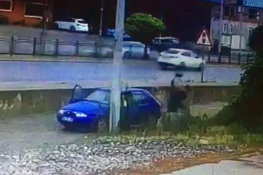 Arabayla ıslattıkları yaşlı adamı darbeden 2 kişiden biri tutuklandı