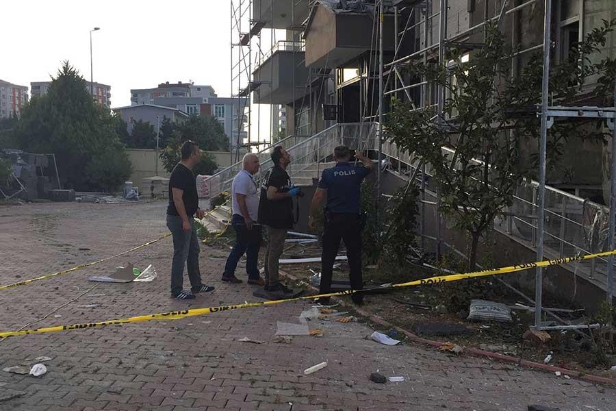 Samsun'da inşaat iskelesinden düşen işçi ağır yaralandı
