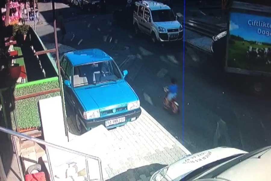 Sancaktepe'de kamyonetin çarptığı 3 yaşındaki çocuk yaşamını yitirdi