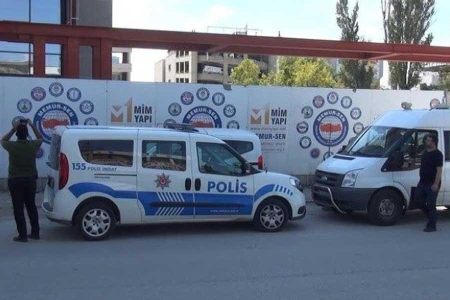 Ankara İSİG Meclisi, Memur Sen binası inşaatındaki iş cinayetini sordu