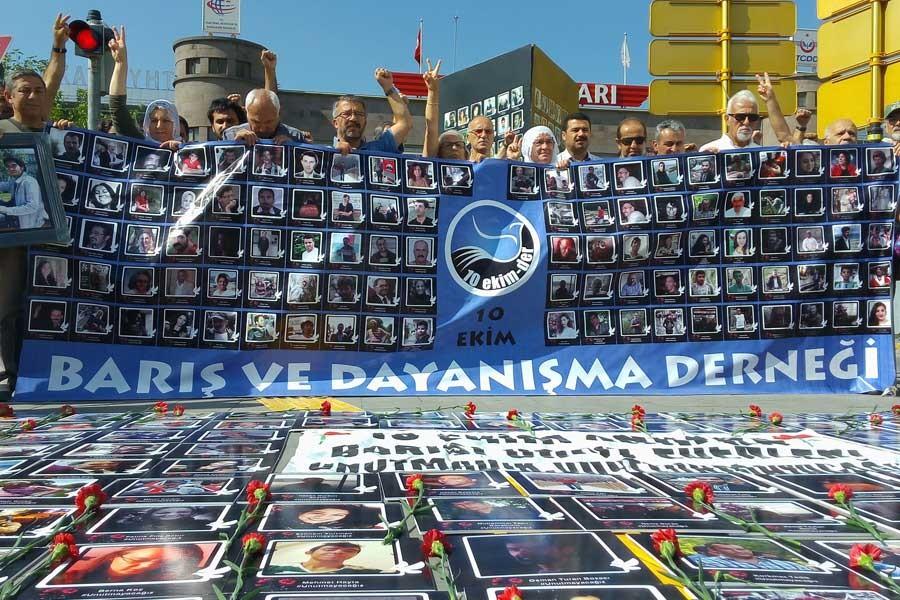 10 Ekim Ankara Katliamı'nın 34. ayı: Barış şiarını güçlü tutacağız