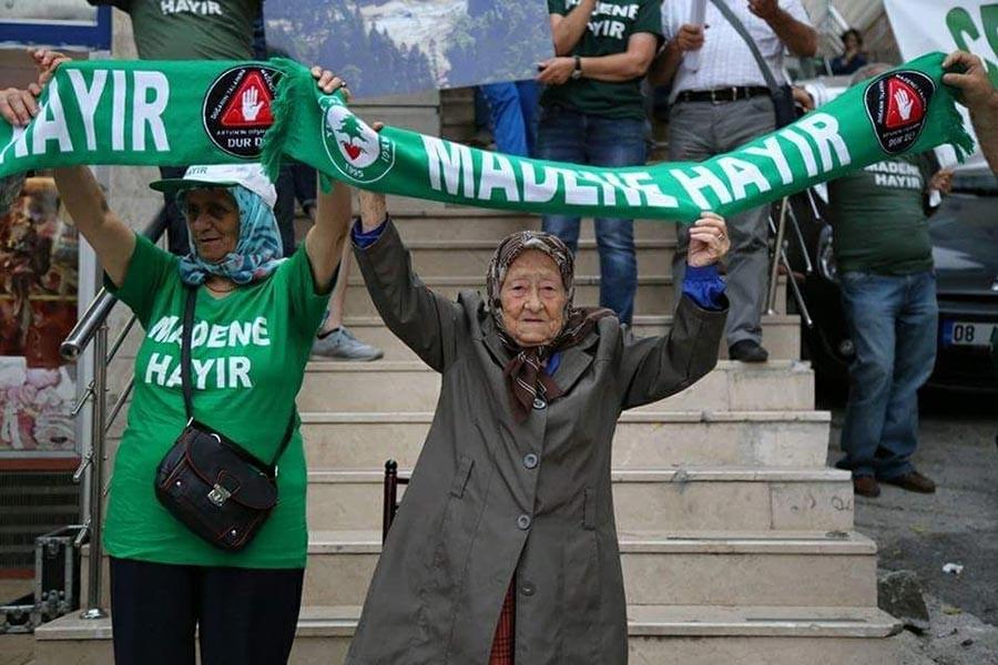 Ekoloji Birliği: Cerattepe direnişi cezaları mücadelemizi engelleyemeyecek