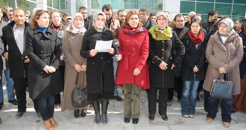 Van'da HDP'li vekillere saldırı protesto edildi