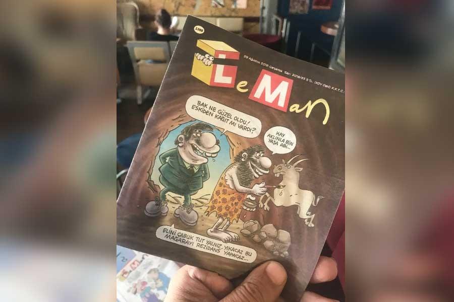 LeMan dergisi de kağıt krizinden etkilendi, son sayı cep boy çıktı