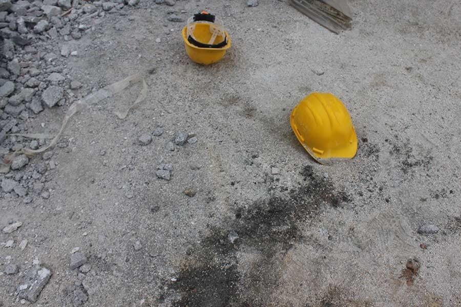 Kayseri'de inşaattan düşen işçi öldü