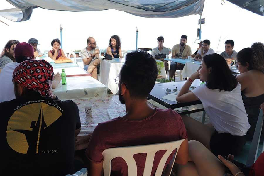 16. Gençlik Yaz Kampından atölyeler