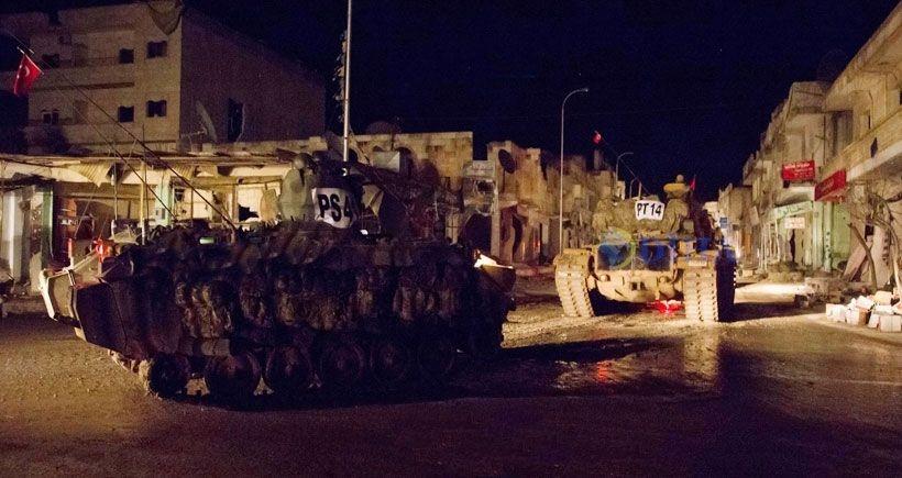 'TSK ve YPG, Süleyman Şah'a ortak operasyon düzenledi'