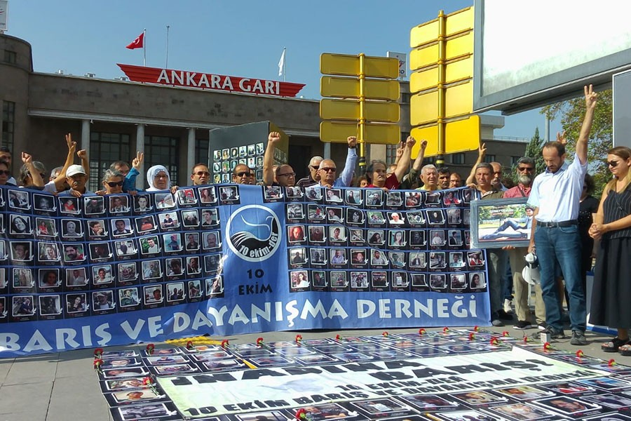 Ankara Katliamı'nın 35. ayı: 103 canın emanetini yerde bırakmayacağız