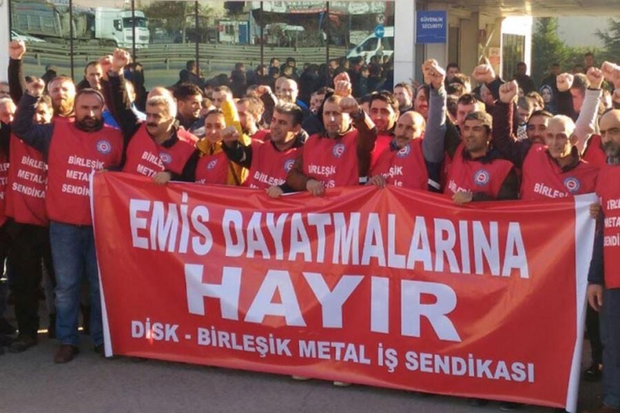 Schneider Elektrik işçileri: Ücretlere zam, işimize güvence istiyoruz