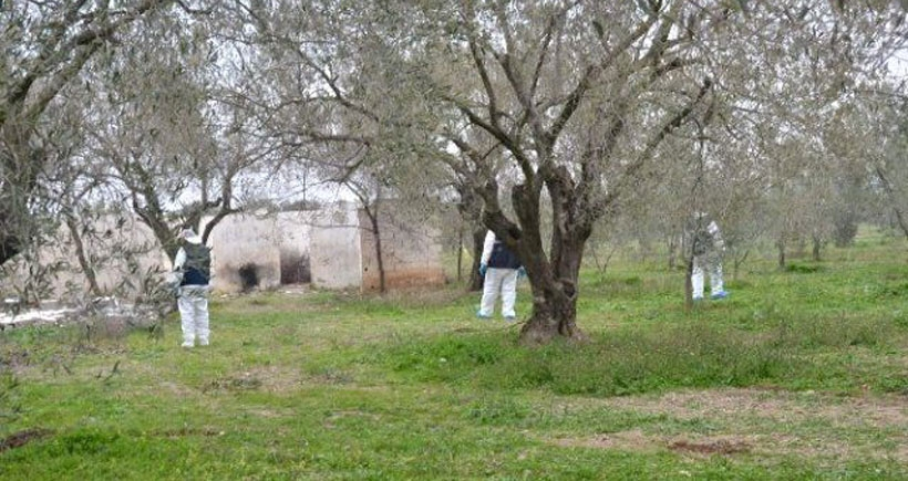 Akhisar'da yakılan kadının kimliği tespit edilemedi