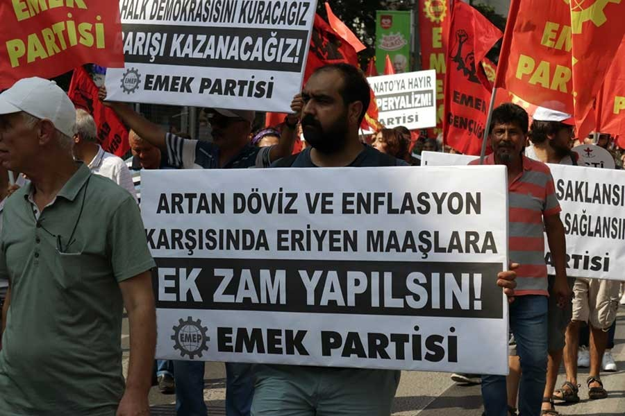 EMEP'TEN YEP VE KRİZ AÇIKLAMASI