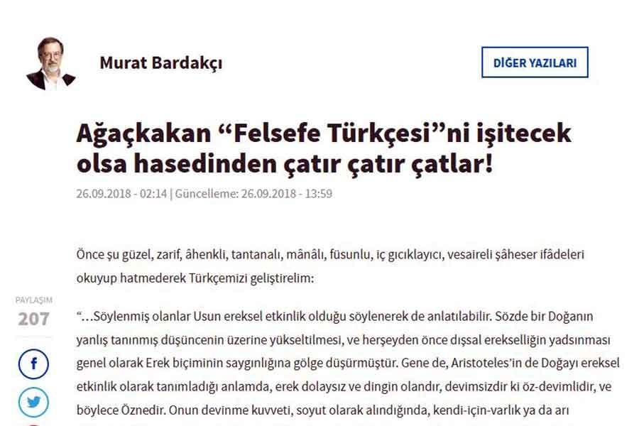 Murat Bardakçı'ya not: Ağaçkakan neden ağaçkakandır?