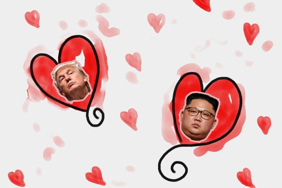 Trump: Kim Jong-un ile birbirimize aşık olduk