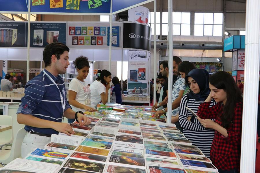 Diyarbakır Kitap Fuarı'nı 109 bin kişi ziyaret etti