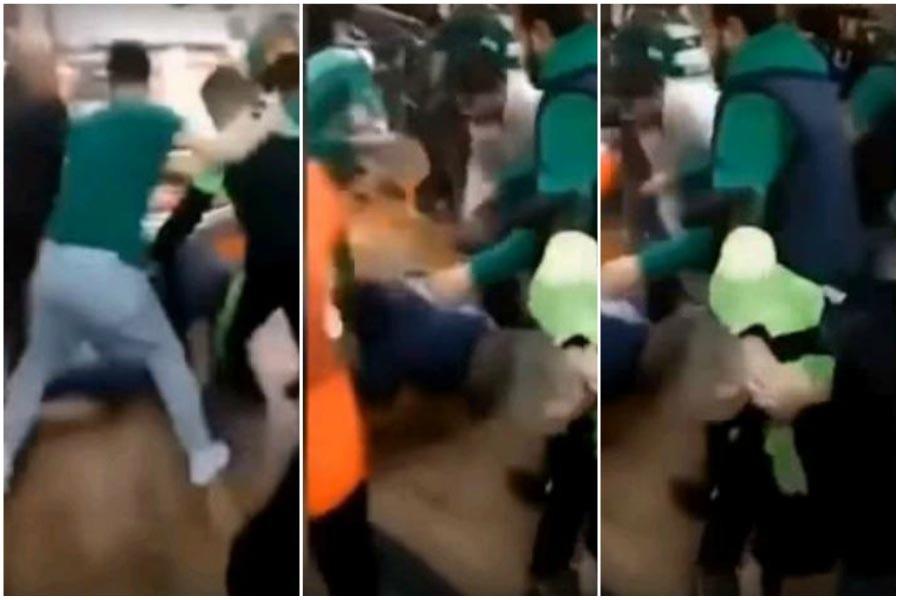 Beşiktaşlılara saldıran Bursaspor taraftarlarından 2'si gözaltında