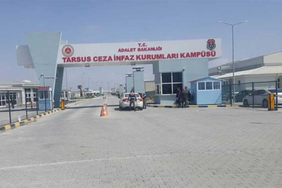 Tarsus Cezaevinde 100 tutuklu suç duyurusunda bulundu