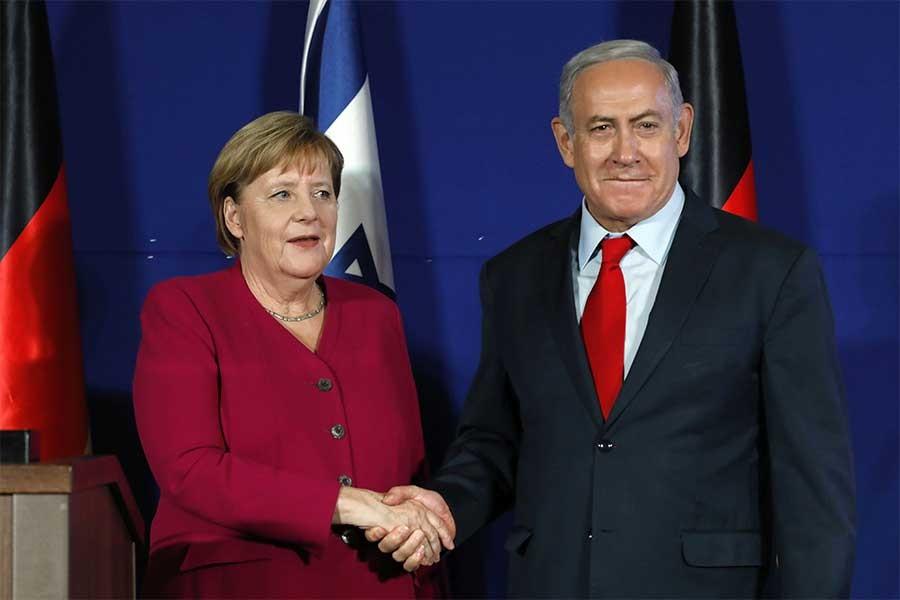 Merkel-Netanyahu görüşmesi: İsrail'den Almanya'ya İran baskısı