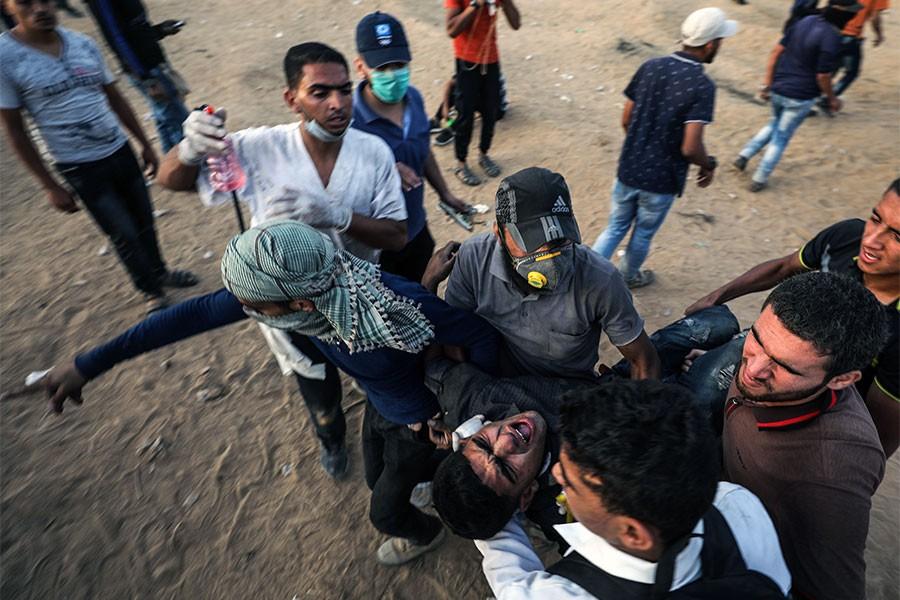 İsrail askerleri 'Büyük Dönüş Yürüyüşü'ne saldırdı: 2 ölü