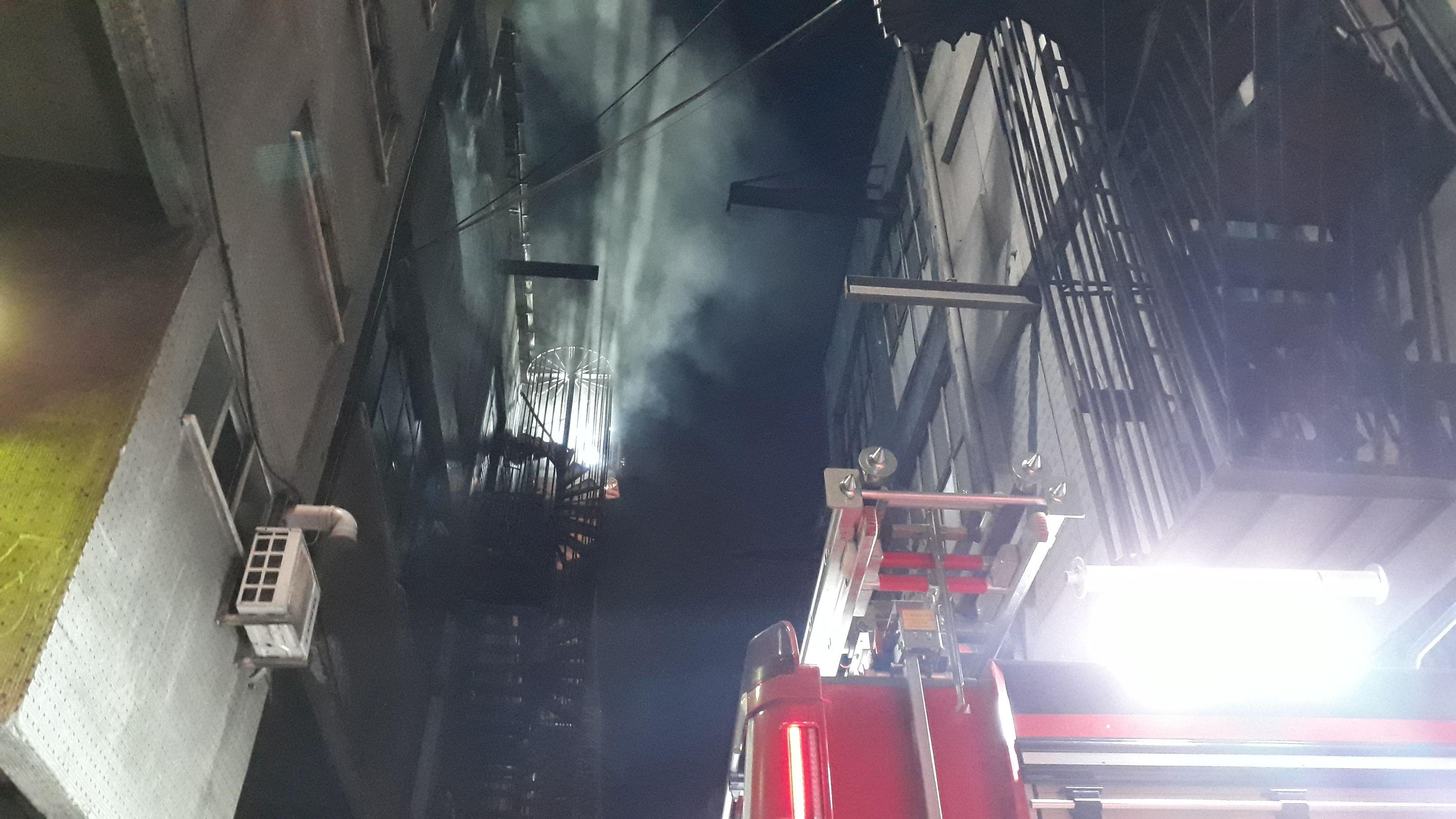 Bayrampaşa'da fabrika yangını