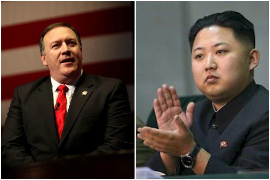 Pompeo, Kuzey Kore lideri Kim ile görüştü
