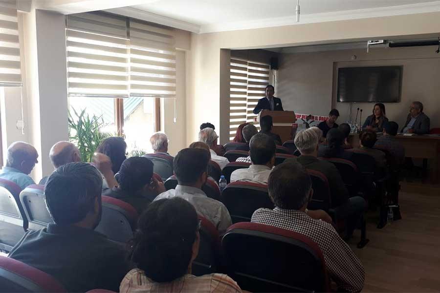 Dersim Barosu 10. Genel Kurulunu gerçekleştirdi