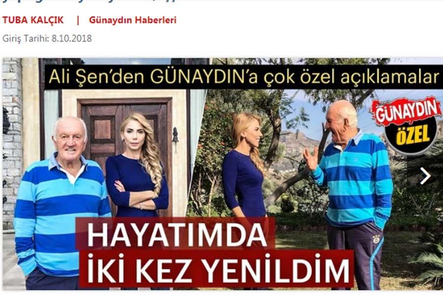 Ali Şen de Sabah'a konuşup Erdoğan'ı övdü: İnsani yönü de müthiş
