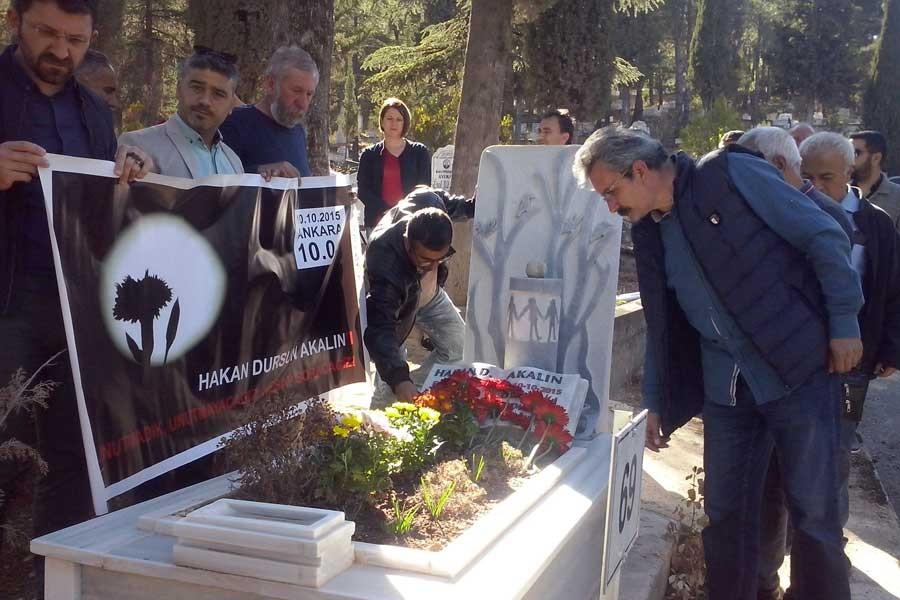 Amasya'da 10 Ekim'de katledilenler anıldı