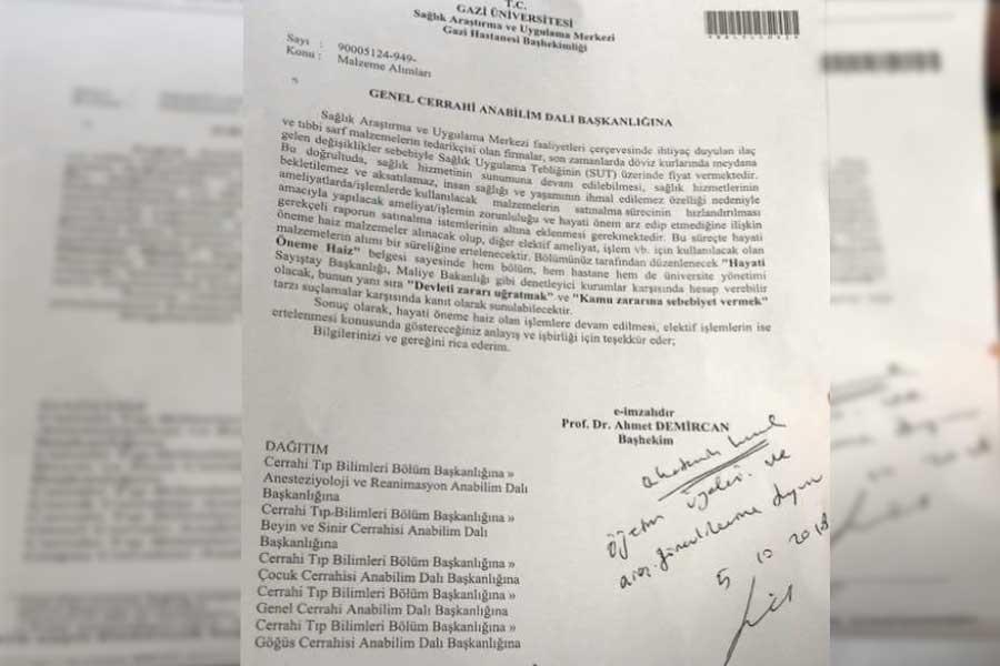 Sağlık Bakanı 'Sağlıkta kısıntı yok' derken TTB 'Belgeler ortada' dedi