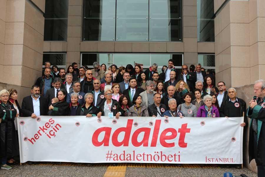 Cumartesi Anneleri Adalet Nöbeti'ne destek verdi