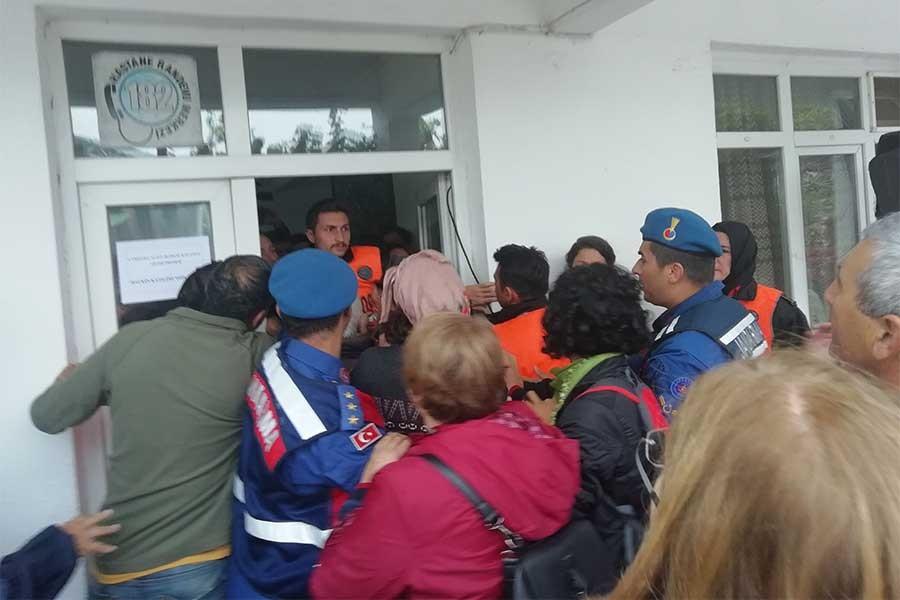 ÇED toplantısında özel güvenlikçi, yaşam savunucularına saldırdı