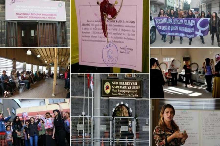Kayyım manzaraları: Kayyımlar Diyarbakır'da 43 kadın merkezini kapattı
