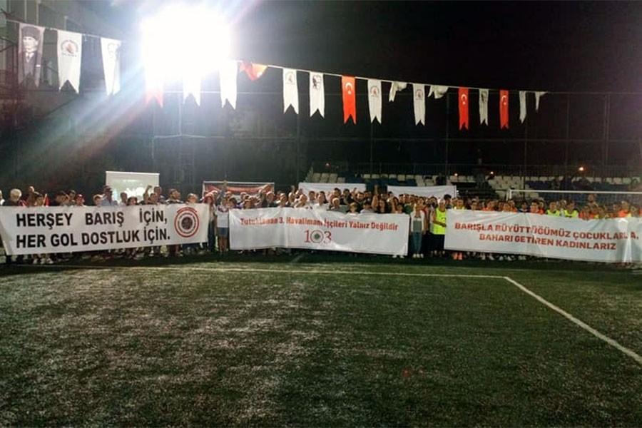 103 Korkmaz İnsan Futbol Turnuvası başladı