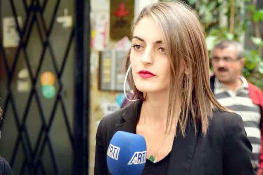 Artı Gerçek Muhabiri Nalin Öztekin'e tehdit: Parmaklarını kırarız!