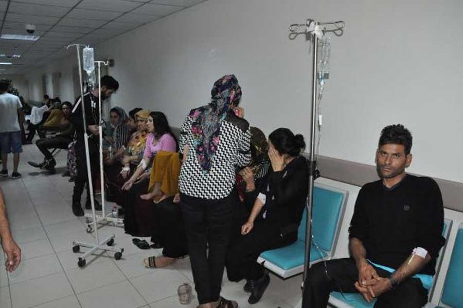 Adana'da 65 işçi gıda zehirlenmesi şüphesiyle tedaviye alındı