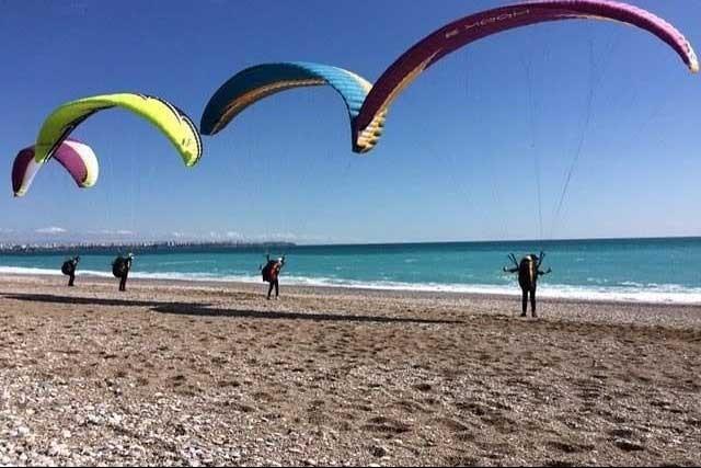 Akdeniz'de topluluk stantları açıldı