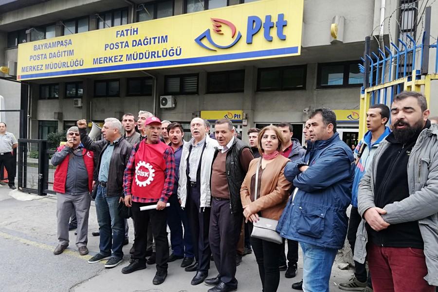 PTT'den 41 taşeron işçi işten atıldı