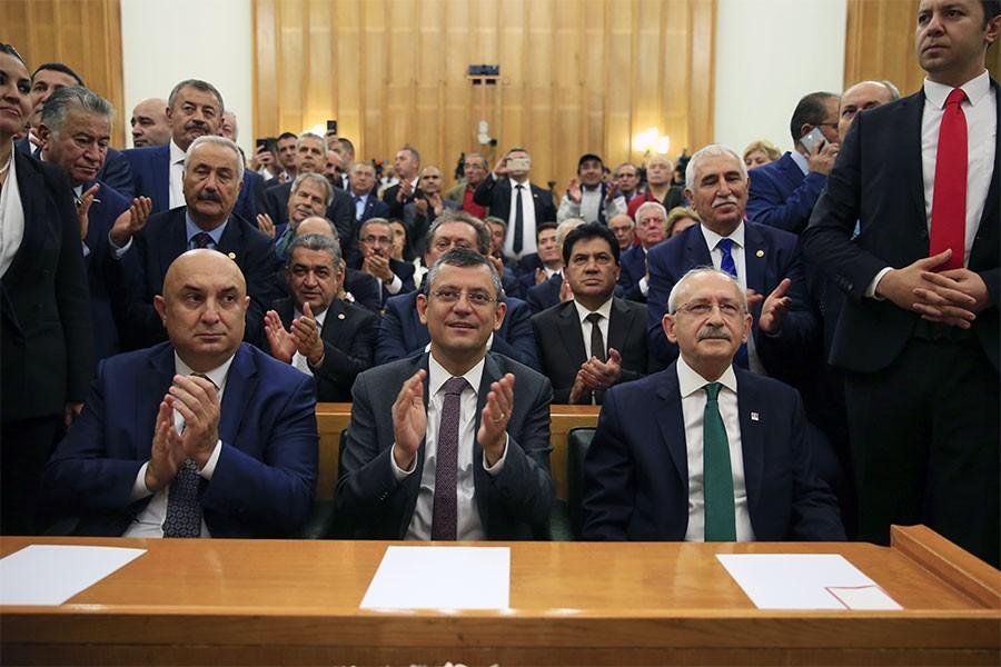 CHP grubu bütçe için basına kapalı toplandı