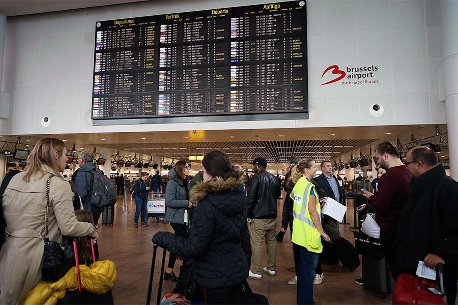 Brüksel Havalimanı'nda grev: Ücret ve çalışma koşuları iyileştirilsin