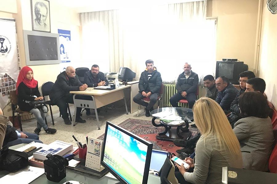 Makro-Taze çalışanları ilk kıvılcımı çaktı: Birliğimiz güçleniyor!