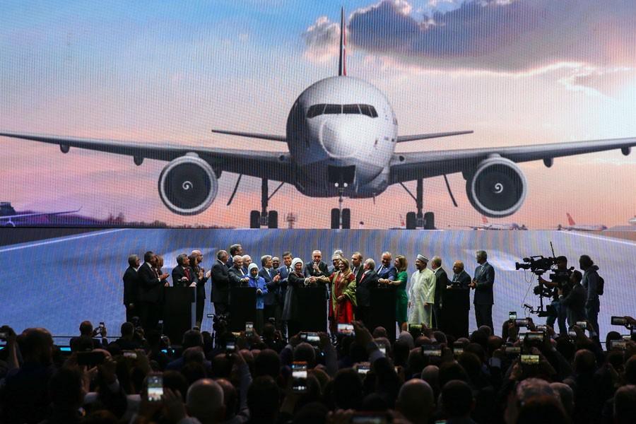 İstanbul Havalimanı açıldı, 29 Ekim resepsiyonu burada yapıldı