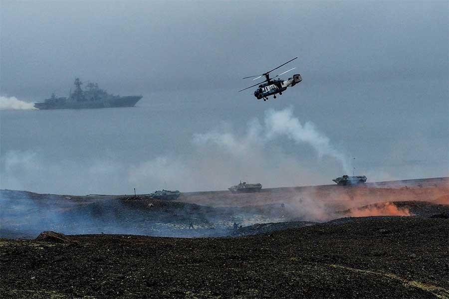 Rusya Norveç'in Møre bölgesi dışında askeri tatbikat yapacak