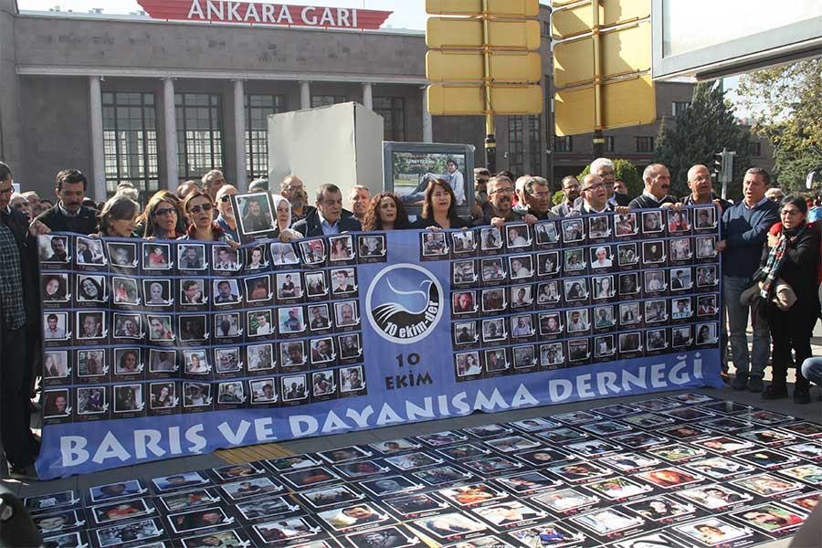10 Ekim Anıtı'na saldırı hakkında suç duyurusu