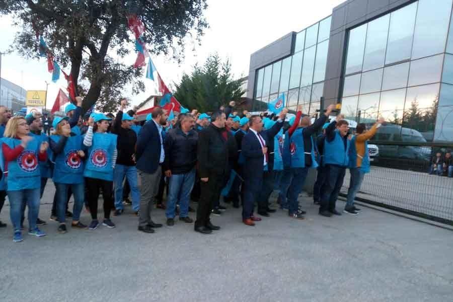 Aygün Alüminyum işçileri: Birliğimizi koruyup mücadeleyi sürdüreceğiz