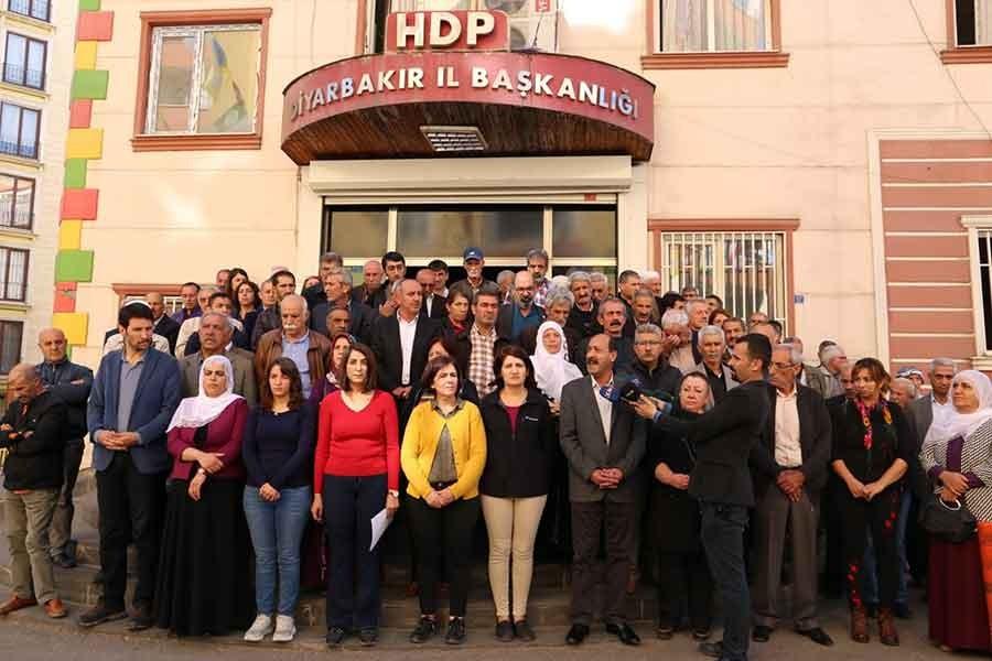 HDP BİNASINA BASKIN