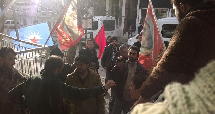 MLKP'li Aslan'ın taziyesine polis saldırısı