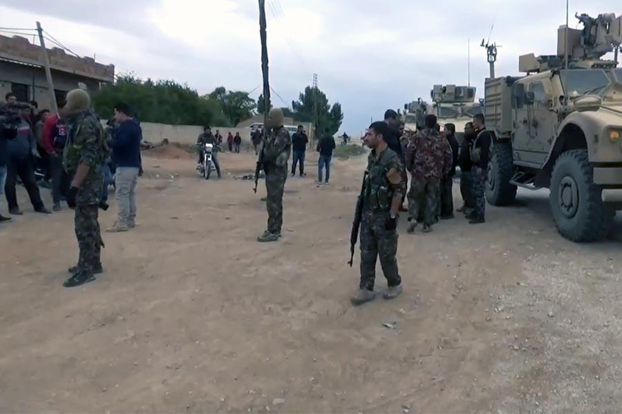 ABD'li bir yetkili: YPG ile ortak devriye stratejimizin bir parçası