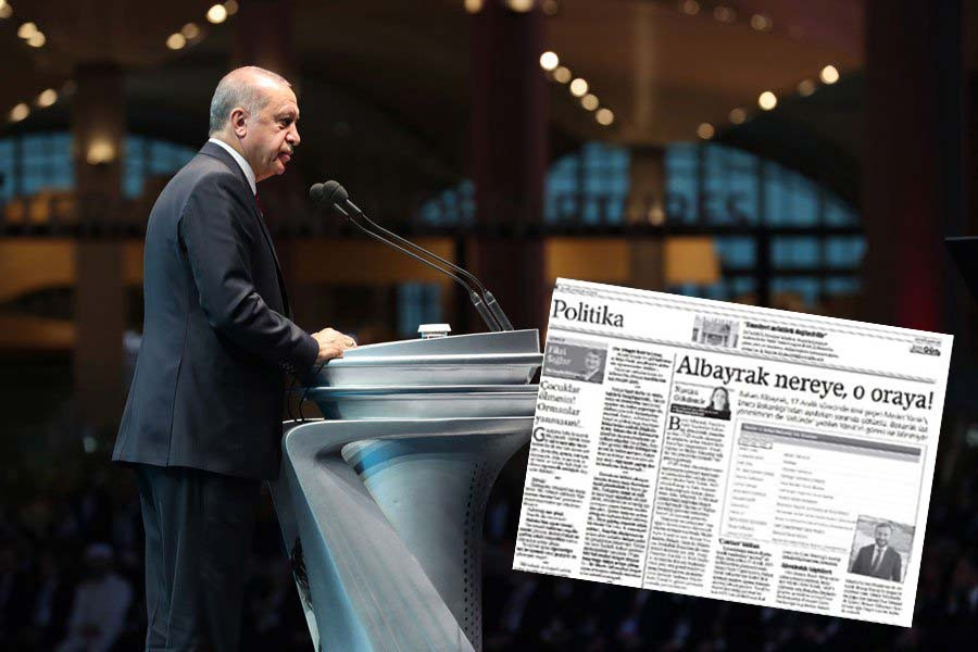 Albayrak'la ilgili habere 'cumhurbaşkanına hakaret'ten soruşturma