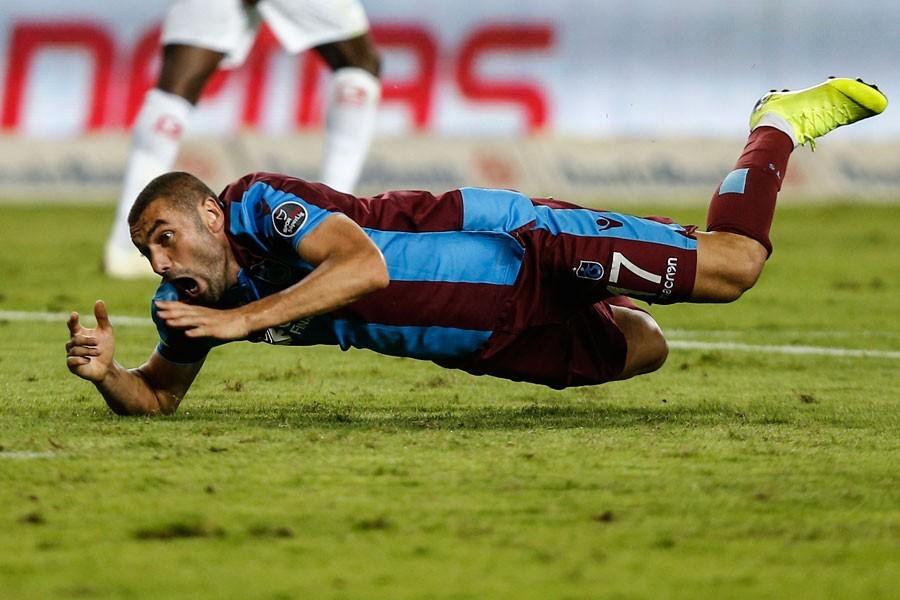 Trabzonspor, Burak Yılmaz'a 500 bin lira para cezası verdi
